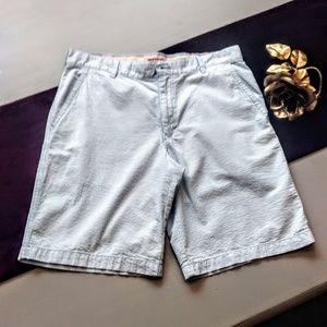 Men's seersucker shorts